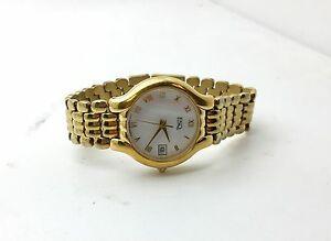 【送料無料】腕時計 エスクァイアレディースステンレススチールゴールドカラーファッションデザイナーesq esquire ladies stainless steel gold color watch womens fashion designer