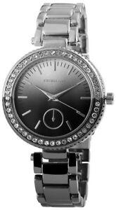 【送料無料】腕時計 レディースブラックシルバーラインストーンウォッチクロノアナログクォーツexcellanc damenuhr schwarz silber strass chronolook analog quarz x152121500112