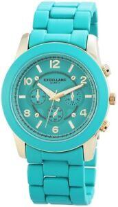 【送料無料】腕時計 ウォッチターコイズゴールドクロノアナログメタル×excellanc damenuhr xxl trkis gold chronolook analog metall x150806000010