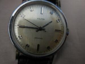【送料無料】腕時計 モデルエポックtrs ancienne kelton bombe6051,model mixte mcanique,pure jus depoque ,