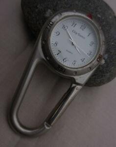 【送料無料】腕時計 クリップボンclip sonic baya ancienne montre mousqueton,bon etat dusage fonctionnel 1995