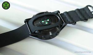 【送料無料】腕時計 ゴムウォッチストラップgarmin fenix 5 amp; 5s hr waterproof rubber nato watch strap made to measure