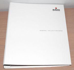 【送料無料】腕時計 ビンテージマスターカタログマニュアルブックスペインvintage rado watch general master catalog ref manual book spanish edition