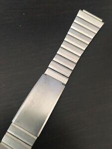 【送料無料】腕時計 ピューターカラーヴィンテージウォッチステンレススチールブレスレットvintage stainless steel pewter color watch bracelet 17mm