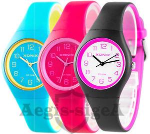 【送料無料】腕時計 スポーティカラフルトップxonix pj womens girls sporty colourful watch wr100m hq top