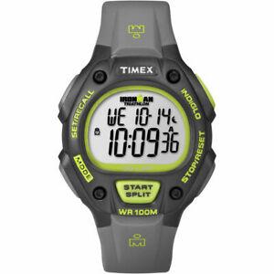 【送料無料】腕時計 メンズラップウォッチクロノグラフアラームtimex t5k692, mens ironman 30lap resin watch, alarm, indiglo, chronograph
