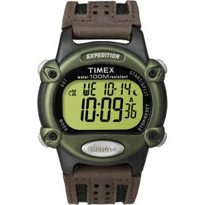 【送料無料】腕時計 クロノアラームタイマーグリーンブラックブラウン