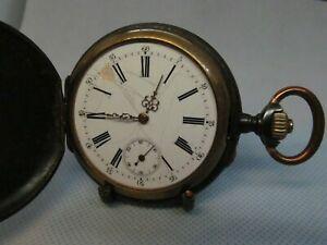 【送料無料】腕時計 ノートルダムデュキャップフェニックスancienne montre gousset mcanique phenix en acier noirci restaurer