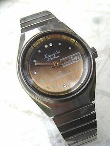 【送料無料】腕時計 ファイアウォールリビジョンancienne remington electra 25 mecanique a calendrier perpetuel,pour revision
