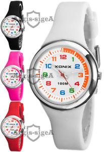 【送料無料】腕時計 クォーツアナログシリコンストラップchildrens wristwatch xonix, quartz, analog, silicone strap, waterproof