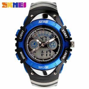 【送料無料】腕時計 クオーツデジタルスポーツアラームストップウォッチchildren watches quartz digital watch sports alarm stopwatch hour 50m waterpr