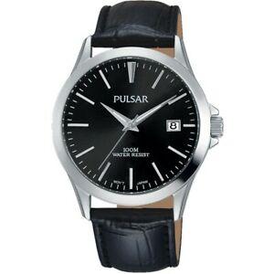 【送料無料】腕時計 パルサーレザーストラップウォッチ×pulsar gents leather strap watch  ps9457x1pnp