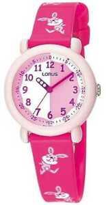 【送料無料】腕時計 キッズピンクバニーウォッチlorus kids pink bunny rg243bx9 watch