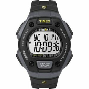【送料無料】腕時計 メンズラップウォッチクロノグラフアラームtimex tw5m09500, mens ironman 30lap resin watch, alarm, indiglo, chronograph
