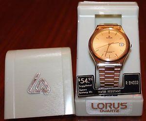 【送料無料】腕時計 ビンテージ#vintage lorus quartz r en032