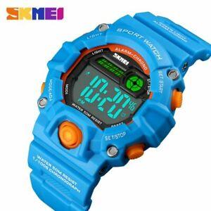【送料無料】腕時計 メートルデジタルcartoon children digital watches for kids 50 meters waterproof led watch for