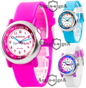 【送料無料】腕時計 アナログメートルanalog wristwatch for girls , water resistant 100m