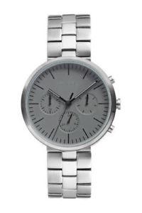 【送料無料】腕時計 ビンスメンズアナログクォーツブレスレットステンレスvince camuto mens analog quartz bracelet watch 43mm vc1098gysv stainless nwt