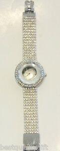 【送料無料】腕時計 ジュネーブベゼルシルバートーンハートクラスプファンシーウォッチgeneva bling glitz crystals, gem on bezel silver tone heart clasp fancy watch