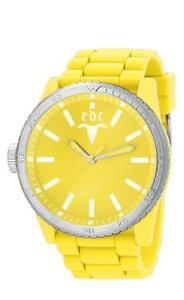 【送料無料】腕時計 ゴムスターハッピーイエローアナログシリコンイエローedc by esprit rubber star happy yellow ee100831014 analog silikon gelb
