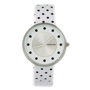 【送料無料】腕時計 レディースドットレザーストラップウォッチ