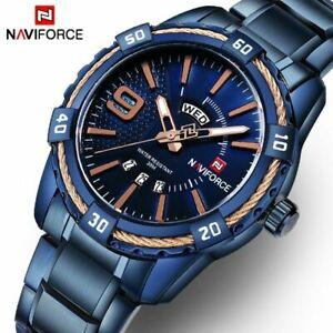 【送料無料】腕時計 スポーツクオーツフルスチールluxury watches men sport full steel quartz wristwatches men waterproof military