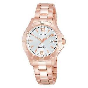 【送料無料】腕時計 パルサーレディースローズゴールドメッキウォッチ×pulsar ladies rose gold plated watch ph7388x1pnp