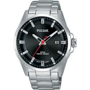 【送料無料】腕時計 パルサーステンレススチールウォッチ×pulsar gents stainless steel watch  ps9509x1pnp