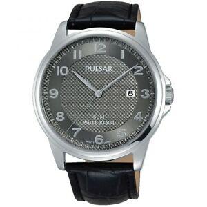 【送料無料】腕時計 パルサーレザーストラップウォッチ×pulsar gents leather strap watch  ps9447x1pnp