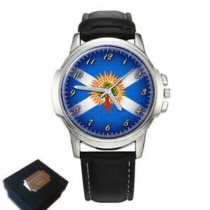 【送料無料】腕時計 スコットランドメンズthe church of scotland flag gents mens wrist watch gift engraving