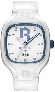 【送料無料】腕時計 リーボックブレードホワイトシリコンストラップアナログウォッチ reebok blade white silicone strap analog watch rcbl1u3pwiwwl