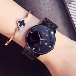 【送料無料】腕時計 レディースファッションブレスレットクリスタルカジュアルスポーツladies wristwatch fashion bracelet women watch luxury crystal casual sports gift