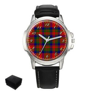 【送料無料】腕時計 マシソンスコットランドタータンチェックメンズmatheson scottish clan tartan gents mens wrist watch gift engraving