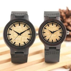 【送料無料】腕時計 クオーツnatural wooden watches genuine leather matching wood watch quartz wristwatch