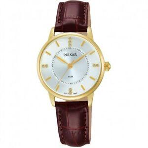 【送料無料】腕時計 パルサーレディースストラップ×pulsar ladies leather strap watch  ph8182x1pnp