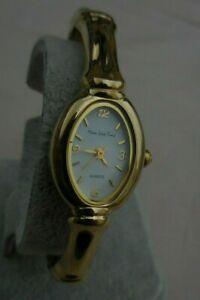 【送料無料】腕時計 ジョリーメインラインタイムオーバルブレスレットjolie ancienne main line time ovale a bracelet rigide originale pince,tb etat