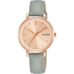 【送料無料】腕時計 パルサーレディースストラップ×pulsar ladies leather strap watch  ph8366x1pnp