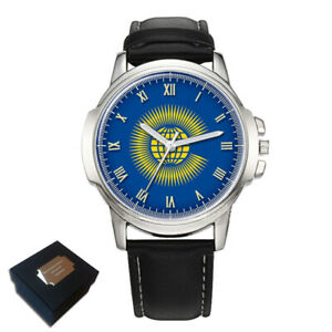 【送料無料】腕時計 メンズthe commonwealth flag gents mens wrist watch gift engraving