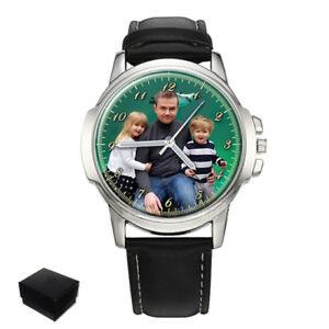 【送料無料】腕時計 パーソナライズカスタムメンズボックスpersonalized custom mens wrist watch box engraving fathers day gift idea