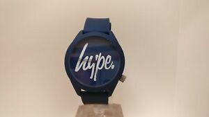 【送料無料】腕時計 スクリプトウォッチhype navy script watch