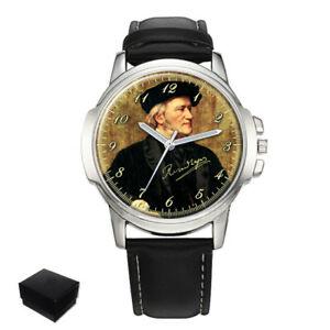 【送料無料】腕時計 ワーグナーメンズrichard wagner composer gents mens wrist watch gift engraving