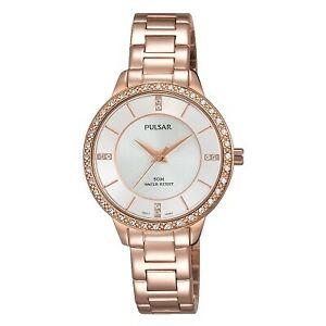 【送料無料】腕時計 パルサーレディースローズゴールドメッキウォッチ×pulsar ladies rose gold plated watch ph8220x1pnp