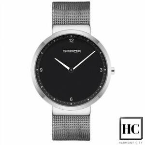 【送料無料】腕時計 ビジネススチールシルバー