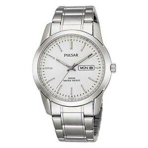 【送料無料】腕時計 パルサーステンレススチール×pulsar gents stainless steel watch   pj6019x1pnp