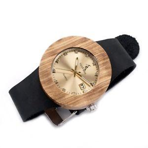 【送料無料】腕時計 ボボカレンダーゼブラウッドウオッチメーカーluxury bobo bird complete calendar watch women zebra wood wristwatch genuine