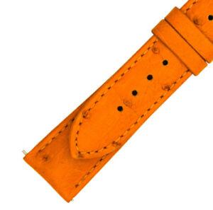【送料無料】腕時計 ハドレータンダチョウストラップマットhadley roma 21 mm matte tan ostrich leather strap 21os31m
