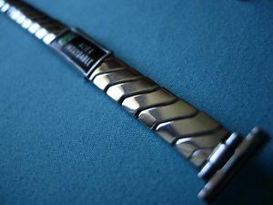 【送料無料】腕時計 ブレスレット8, 9, 10, 11 ou 12 mm bracelet lastique acier inox nos annes 50