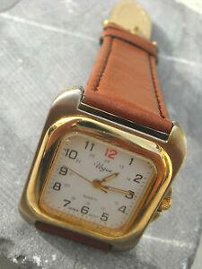 【送料無料】腕時計 オリジナルウルトラプレートブレスレットヌフvogue, montre seventies originale ultra plate mixte et son bracelet neuf