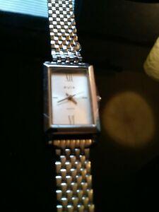 【送料無料】腕時計 ブランドレディースクオーツステンレススチールウォッチbrand avia ladies quartz all stainless steel watch