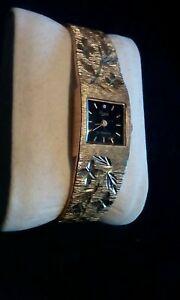 【送料無料】腕時計 ビンテージレディースブレスレットトイレvintage ladies everite 17jewels gphw bracelet watch serviced,oiled vgwc